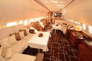 MJet Airbus ACJ319 Lounge 1_