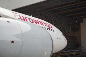 Erste A330 Eurowings mit Bemalung