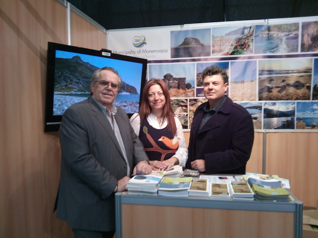 Θετικά μηνύματα από τη σταθερή συμμετοχή του Δήμου Μονεμβασίας στη Διεθνή Έκθεση Τουρισμού PHILOXENIA