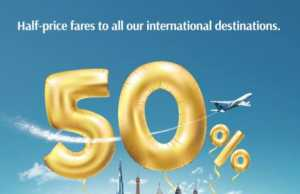 Oman Air Announces a Global Sale of 50% off all international flights