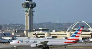 AMERICAN AIRLINES AT LAX TO RELOCATE FOUR AIRCRAFT GATES