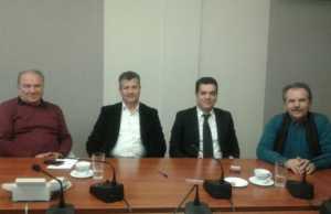 Συνάντηση Σ.Ε.Τ.Κ.Ε. - Γιώργου Καραχρήστου