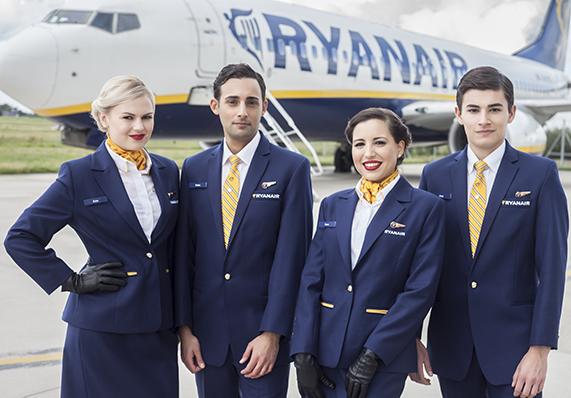 Major Cabin Crew Recruitment Campaign for Ryanair