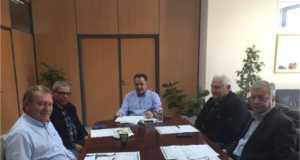 Σύσκεψη με τη Δημοτική Αρχή Αχαρνών για τα έργα του δήμου είχε ο Πέτρος Φιλίππου