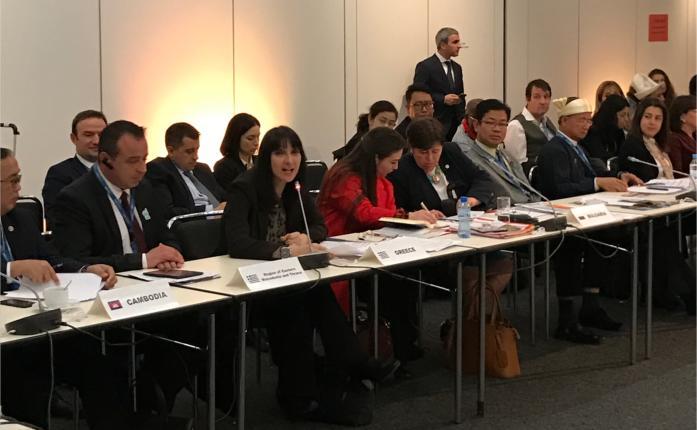 Η Υπουργός Τουρισμού στην Συνάντηση των Υπουργών (ΙΤΒ, Βερολίνο Γερμανία)