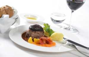 First Class Veal fillet with shallot crust