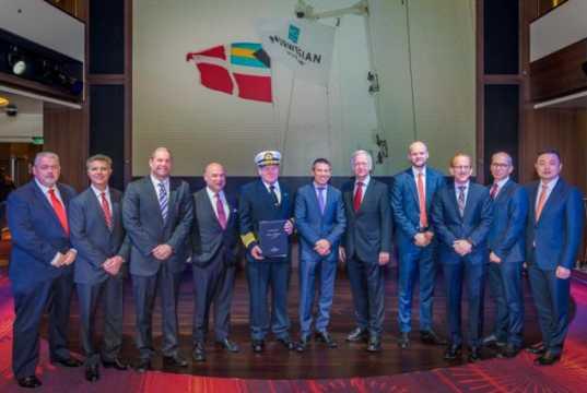 Norwegian Cruise Line accepts delivery of Norwegian Joy from MEYER WERFT