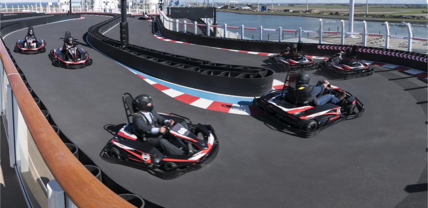 Norwegian Joy Go Kart