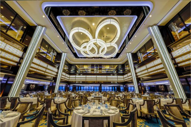 Norwegian Joy Manhattan Restaurant