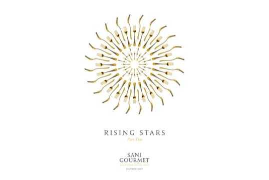 """Αστέρια Michelin στο Sani Gourmet 2017 """"Rising Stars Part two"""""""