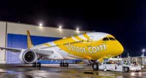 Scoot 787 Dreamliner