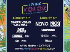 LIVING COLOR MUSIC & ARTS FESTIVAL Αγία Νάπα