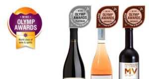 3 βραβεία ποιότητας για την οινοποιείο Ανατολικός vineyards στον διαγωνισμό Olymp Awards 2017