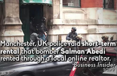 Airbnb furious about Manchester bombing ad campaign