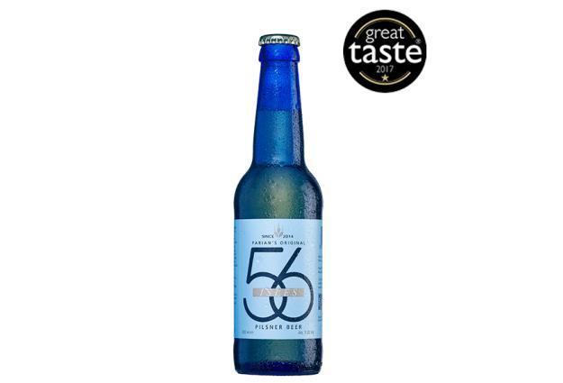 56 Ιsles Pilsner Great Taste Awards