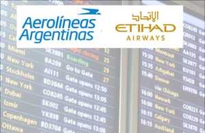 Aerolíneas Argentinas and Etihad Airways sign codeshare partnership