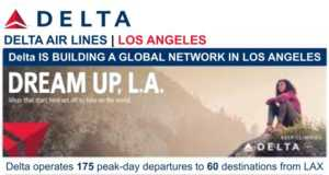 DELTA Launching nonstop service from LAX to Amsterdam and Paris