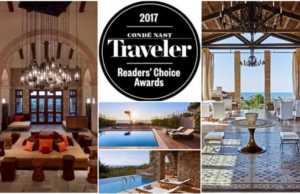 Ανάμεσα στα καλύτερα Resorts της Ευρώπης σύμφωνα με τους αναγνώστες του Condé Nast Traveler