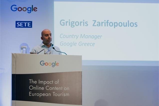 Ο κ. Γρηγόρης Ζαριφόπουλος, Country Manager - Greece, Cyprus & Malta - Google
