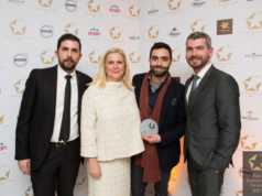 FNL Awards Grace Santorini Team