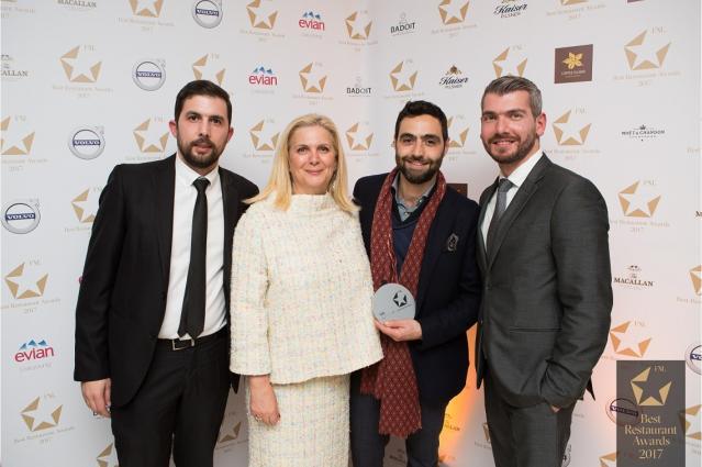 FNL Awards Grace Santorini Team