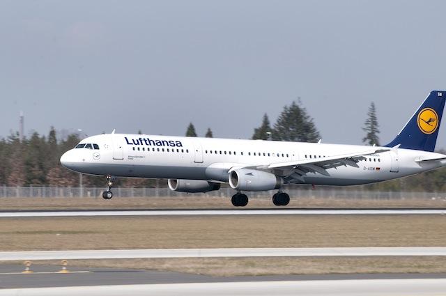 Lufthansa Airbus A321-200 mit der Kennung d-AISW trägt den Namen Stade edd7e3159e0