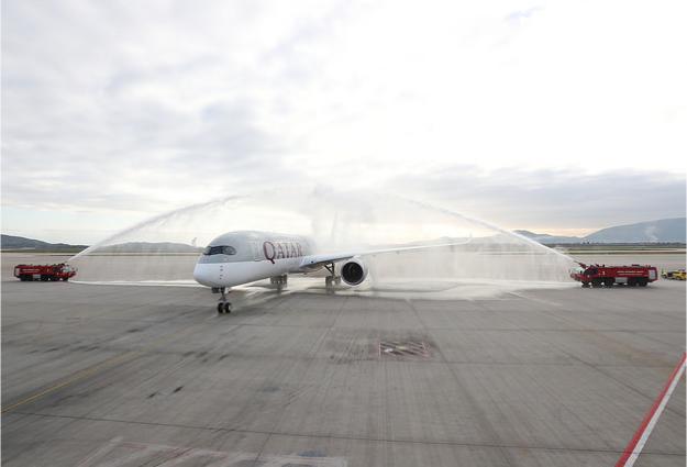 H QATAR AIRWAYS ΦΕΡΝΕΙ ΤΟ AIRBUS A350 ΓΙΑ ΠΡΩΤΗ ΦΟΡΑ ΣΤΗΝ ΕΛΛΑΔΑ