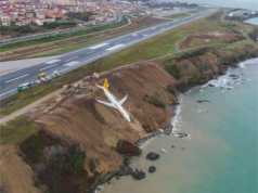 Pegasus Airlines skids off runway
