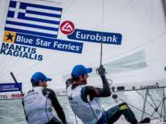 Με το αστέρι της Blue Star Ferries βάζουν πλώρη για τους Ολυμπιακούς αγώνες του Τόκιο, οι Παναγιώτης Μάντης και Παύλος Καγιαλής