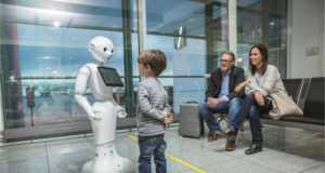 Munich Airport and Lufthansa start testing of humanoid robot in Terminal 2