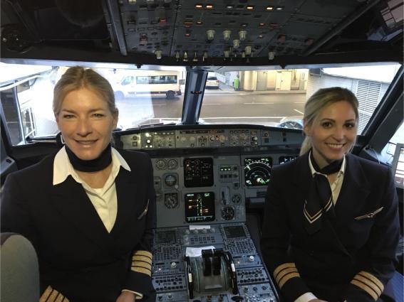 Οι γυναίκες πιλότοι του Ομίλου Lufthansa απογειώθηκαν
