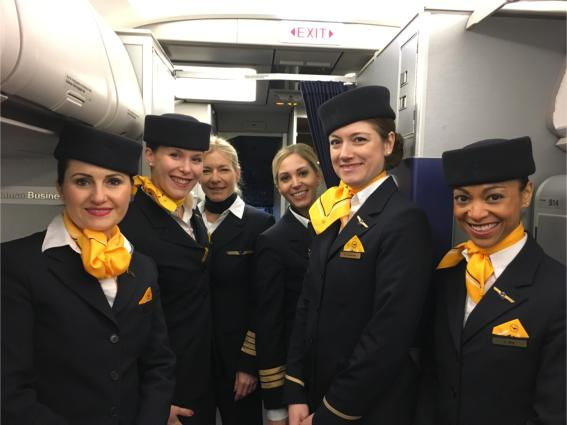 Lufthansa Group female pilots took off