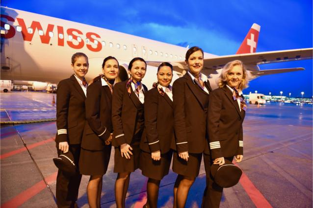 SWISS flies to Berlin with an all-female crew