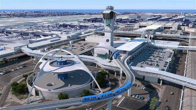 Kết quả hình ảnh cho LAX Ranked Fifth in the World Among Mega Airports for On-Time Flight Performance in 2018 images