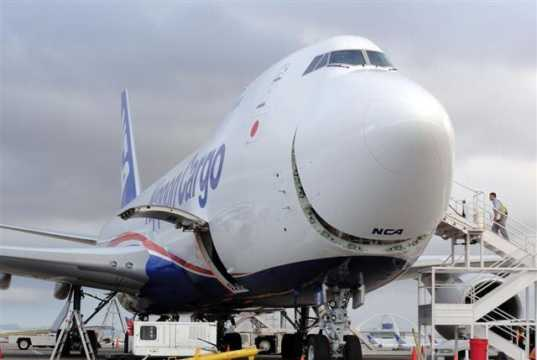 LAX BREAKS 18-YEAR-OLD CARGO RECORD