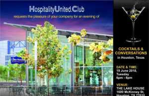 HospitalityUnited.Club brings Cocktails & Conversations to Houston
