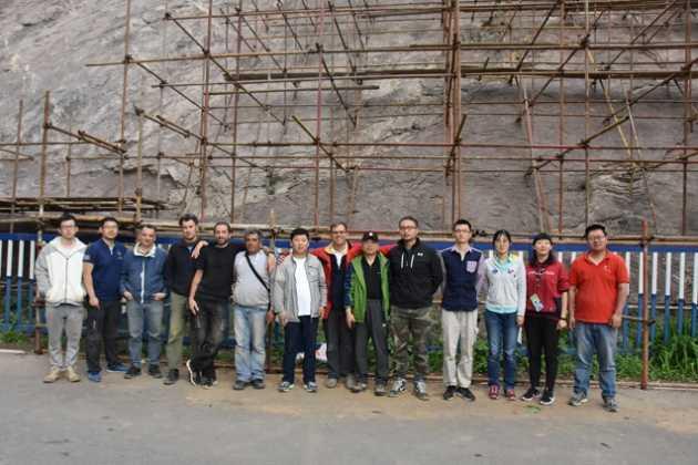 Πρόγραμμα συντήρησης ιχνοαπολιθωμάτων δεινοσαύρων Yanqing Κίνα