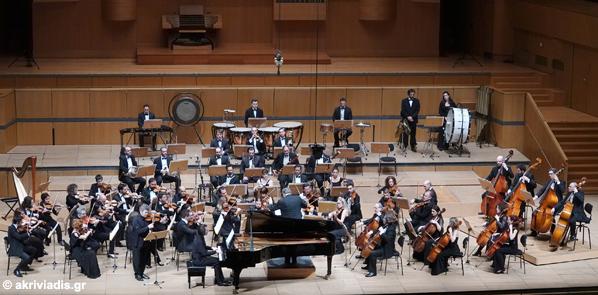 f3a7291a0f2 Η Φιλαρμόνια Ορχήστρα Αθηνών συναντά τον πιανίστα Βασίλη Βαρβαρέσο Μουσική  διεύθυνση | Βύρων Φιδετζής