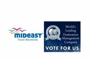 Η Mideast υποψήφια για World's Leading DMC στα World Travel Awards
