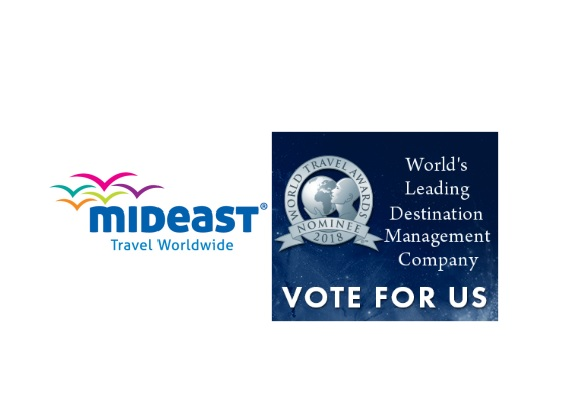 Η Mideast υποψήφια για World's Leading DMC στα World Travel Awards