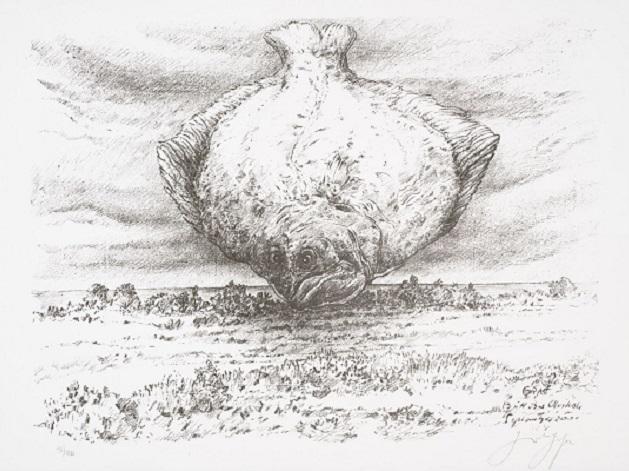 Έκθεση χαρακτικών του Günter Grass