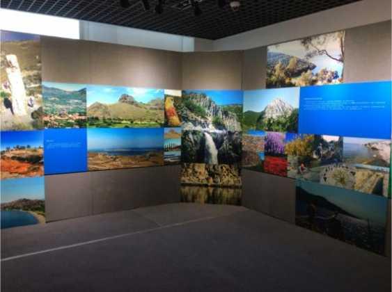 Αφιέρωμα στη Λέσβο σε έκθεση του Γεωπάρκου Huangshan στην Κίνα