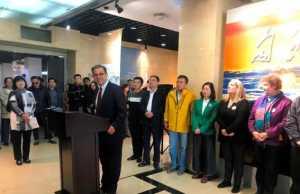 Ομιλία Ν Ζούρου στα εγκαίνια της έκθεσης στην Κίνα