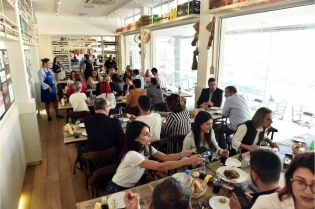 Διαγωνισμός μαγειρικής του Ελληνικού Ουζομεζεδοπωλείου