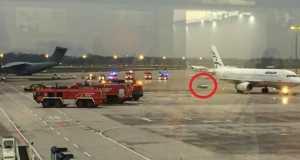 BMW κυνηγάει αεροσκάφος της Aegean στο αεροδρόμιο του Ανόβερου