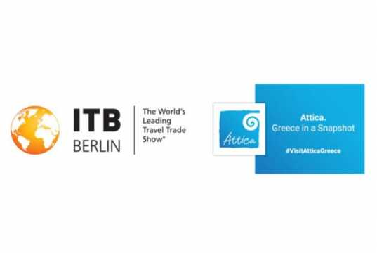 The Region of Attica participates at ITB Berlin 2019, one of the leading International Tourism Exhibitions in Europe