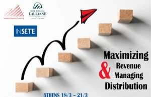 To INΣΕΤΕ φέρνει στην Αθήνα τη Lausanne Hospitality Consulting «Maximizing Revenue & Managing Distribution»