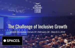 Για δεύτερη φορά συνεργασία Spaces και Delphi Economic Forum