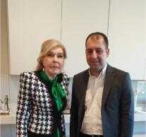 Στο «πλευρό» της Περιφέρειας η Μαριάννα Βαρδινογιάννη. Συνάντηση με τον Αντιπεριφερειάρχη Κρήτης Κώστα Φασουλάκη