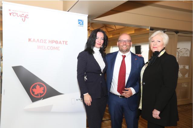 Η Air Canada επεκτείνει την παρουσία της στην Αθήνα, με επιπλέον πτήσεις προς το Τορόντο και το Μόντρεαλ